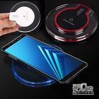 Universal QI Wireless Charger Charging Pad Dock For SAMAUNG S 6/7/8/9 Note 5/7/8