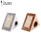 Pet Cat Bed Indoor Kennels Dog Kitten Toy Tent Scratch Board Playing House Cave