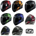 Steelbird SBA-1 R2K Full Face Multi Choice Air Motorcycle Bike Graphics Helmet