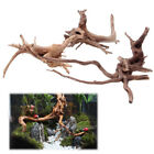 Внешний вид - Hot Sales Fish Tank Driftwood Natural Wood Tree Trunk Aquarium Decor Plants US
