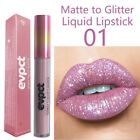 15 Colors Beauty Long Lasting Metal Matte Lip Gloss Shiny Diamond Liquid Glitter