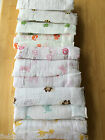 Внешний вид - New ADEN AND ANAIS Swaddle Muslin Cotton Blanket Bee Turtle Butterfly Elephant