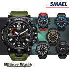 For Smael S Shock Waterproof Sports Military Men's Analog Quartz Digital Watches
