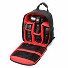 DSLR Camera Backpack Shoulder Lens Bag Compact Waterproof For Nikon Canon Sony A