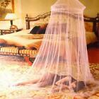 1 Pcs Universal Elegant Round Lace Insect Bed Canopy Netting Curtain Dome Polyes image