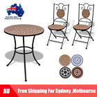 Bistro Set Outdoor Patio Garden Furniture Weather-resistant Table &chairs I7i3