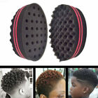 Double Sided Barber Hair Twist Sponge Brush Dreads Lock Coil Afro Curl Wave Tool
