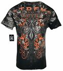 XTREME COUTURE by AFFLICTION Men T-Shirt SALVATION Tattoo Biker MMA Gym S-3X $40 image