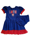 *NWT- MLB -TODDLER GIRL'S TEXAS RANGERS 2-PC DRESS SET- OFFICIAL - SIZE: 3T, 4T on Ebay