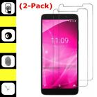 2-Pack Tempered Glass Screen Protector for ALCATEL T-Mobile REVVL 2 / 2 Plus