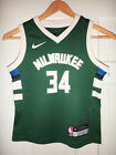 Preschool 4 7 Nike Giannis Antetokounmpo Milwaukee Bucks Green Replica Jersey