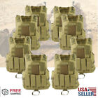 Tactical Military Vest SWAT Police Airsoft Molle Combat Assault Plate Carrier US