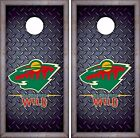 Minnesota Wild Cornhole Skin Wrap NHL Hockey Luxury Decal Vinyl Sticker DR418 $39.99 USD on eBay
