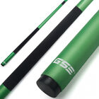 "58"" 2-Piece Green Fiberglass Graphite Composite Billiard Pool Cue Stick(18-21oz)"