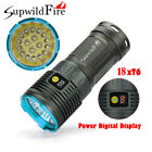 200000 LM Supwildfire 18X XML T6 LED Hunting Tactical Flashligt 4X18650 Torch_T6
