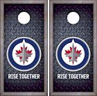 Winnipeg Jets Cornhole Skin Wrap NHL Hockey Luxury Decal Vinyl Sticker DR432 $39.99 USD on eBay