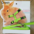 Pet Rabbit Soft Harness Leash Adjustable Bunny Traction Rope Walking durable, used for sale  Shipping to Canada