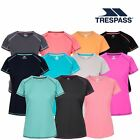 Trespass Viktoria Womens Short Sleeved Active T-Shirt Gym Top For Ladies