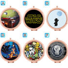 Star Wars Boba Fett  Stormtrooper Compact Mirror Makeup Cosmetic Tools Rose Gold $6.67 CAD on eBay