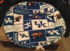 Handmade Pet/Dog UNIVERSITY OF KENTUCKY Fleece Bed Washable Made in USA