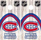 Montreal Canadiens Cornhole Skin Wrap NHL Hockey Wood Decal Vinyl Sticker DR492 $39.99 USD on eBay