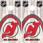 New Jersey Devils Cornhole Skin Wrap NHL Hockey Wood Decal Vinyl Sticker DR494 $39.99 USD on eBay