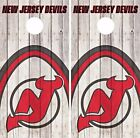 New Jersey Devils Cornhole Skin Wrap NHL Game Decal Vinyl Sticker Logo DR495 $39.99 USD on eBay