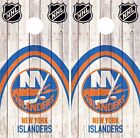 New York Islanders Cornhole Skin Wrap NHL Hockey Wood Decal Vinyl Sticker DR496 $39.99 USD on eBay
