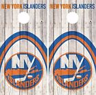 New York Islanders Cornhole Skin Wrap NHL Game Decal Vinyl Sticker Logo DR497 $39.99 USD on eBay
