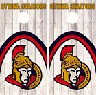 Ottawa Senators Cornhole Skin Wrap NHL Game Wood Decal Vinyl Sticker Logo DR499 $39.99 USD on eBay