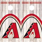 Arizona Diamondbacks Cornhole Skin Wrap MLB Game Decal Vinyl Sticker Logo DR519 on Ebay