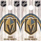 Vegas Golden Knights Cornhole Skin Wrap NHL Game Wood Decal Vinyl Sticker DR512 $39.99 USD on eBay