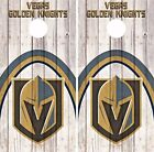 Vegas Golden Knights Cornhole Skin Wrap NHL Wood Decal Vinyl Sticker Logo DR513 $39.99 USD on eBay