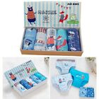 Little Kids Boys' Cotton Underwear Toddler Briefs 2T-5T 5-Pack Set Sailor Sea