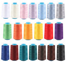 Sewing Thread Polyester 3500 Yard Spools Cones 40/2 Tex 27 Serger Sewing Machine