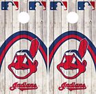 Cleveland Indians Cornhole Skin Wrap MLB Game Decal Vinyl Sticker Logo DR533 on Ebay