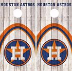 Houston Astros Cornhole Skin Wrap MLB Baseball Wood Decal Vinyl Sticker DR538 on Ebay