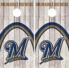 Milwaukee Brewers Cornhole Skin Wrap MLB Baseball Wood Decal Vinyl Sticker DR544 on Ebay