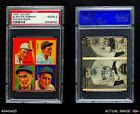 1935 Goudey Babe Herman / Gus Suhr / Tom Padden / Cy Blanto Pirates PSA 2 - GOODBaseball Cards - 213