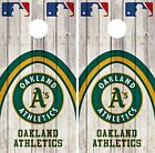 Oakland Athletics Cornhole Skin Wrap MLB Game Decal Vinyl Sticker Logo DR553 on Ebay