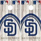San Diego Padres Cornhole Skin Wrap MLB Game Wood Decal Vinyl Sticker Logo DR559 on Ebay