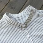 Striped Shirts Loose Office Ladies Blouse Cotton Spring Women Tops For Female