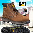 CATERPILLAR PRECISION SAFETY WORK BOOTS CAT COMPOSITE TOE CAP WATER RESISTANT