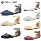 DREAM PAIRS Women's Ballerina Ballet Flat Shoes Ladies Comfort Slip On Shoes