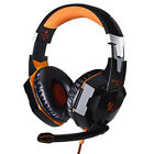 EATCH G2000 3.5mm Gaming Headset W/Mic Headphone Stereo Bass for PS4 Xbox ONE PC