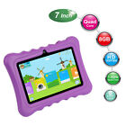 7'' inch Quad Core HD Tablet PC for Kids Android 4.4 KitKat Dual Camera WiFi 8GB