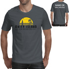 Amity Island Printed T shirt Inspired by Jaws Movie Shark Gift Mens