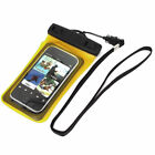 "Waterproof Dry Bag Protector Case Cover Pouch Sleeve for 4"" iPhone Cell Phone"