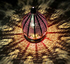Vintage Handicraft Turkish Lamp Moroccan Christmas Large Pendant Ceiling Lights