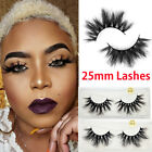 Reusable 3D Mink Hair Wispies Fluffy Eye Lashes Extension  False Eyelashes